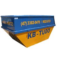 KB-TUDO-Locação e transporte de caçambas estacionárias, coleta de entulhos e transporte de resíduos industriais